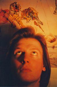 Had a kind of vision: Der Autor Anfang der 1990er-Jahre. Foto: Roland Grimm
