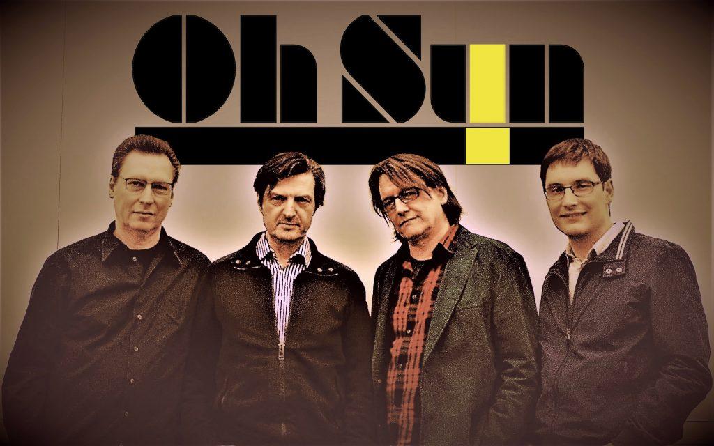Oh Sun! sind (v.l.n.r.) Roland Grimm, Jürgen Langer, Thomas Auth und Jan Gaža.