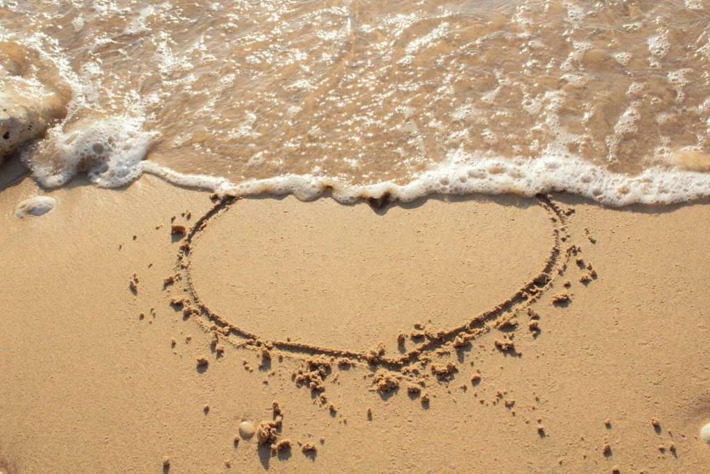 Liebe kommt und geht – wie die Flut. Foto: Pixabay
