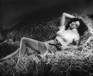 Schön und unerreichbar: die Film-Diva Jane Russell. Foto: Pixabay