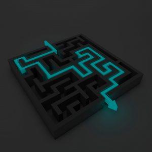 """Komplizierteres Arrangement: Wir haben einen neuen Weg gefunden, """"Help find the way"""" zu spielen.   Foto: Pixabay"""